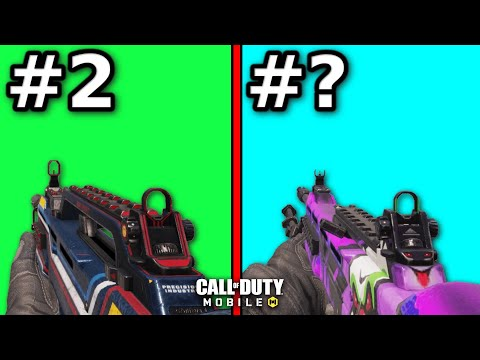 Top 10 BEST GUNS In SEASON 5 For COD Mobile!