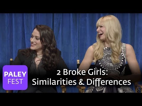 2 Broke Girls - The Cast Discuss Similarities and Differences with their Characters