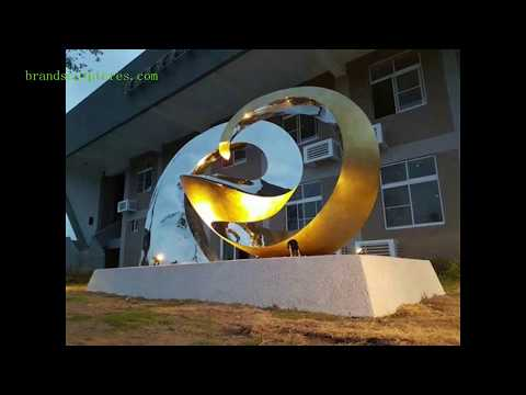 Abstract metal art sculptures Circle Shape manufacturer from PIEDRA WORLD LIMITED