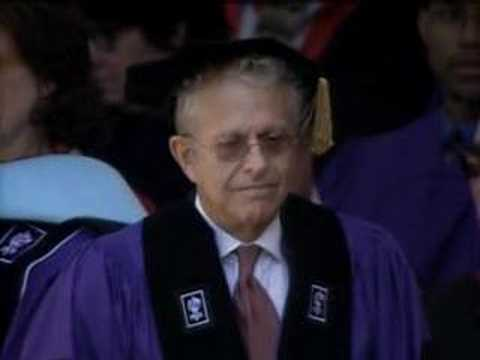 2008 NYU commencement (14/37) -- Laurence Tribe degree