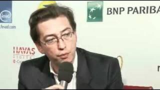 Bertrand Delamarre La Nuit des Favor'i 2010 Le Journal du Net - e-Buisiness