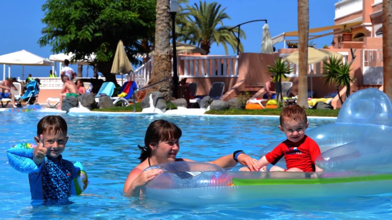 Sol Sun Beach Apartments. Room Tour, swimming pool area ...