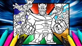 MARVEL The Infinity Gauntlet Coloring page | SUPER HERO SQUAD