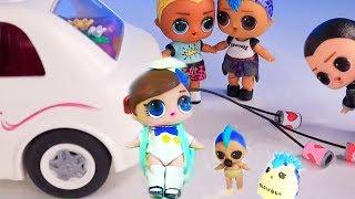 Ляльки Лол Сюрприз! Як зробити Вихованця для хлопчиків Lol Surprise - мультик з іграшками!