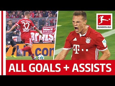 Joshua Kimmich - All Goals & Assists So Far...