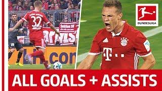 Joshua Kimmich - All Goals & Assists So Far...