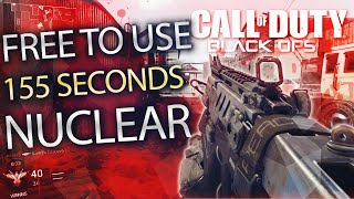 FREE TO USE BO3 Gameplay - 155 SECONDS NUCLEAR ON FRINGE