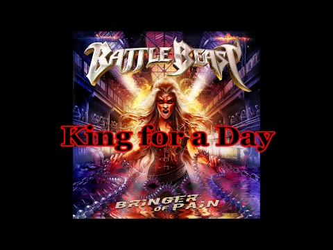 Battle Beast - King for a Day (Lyrics)