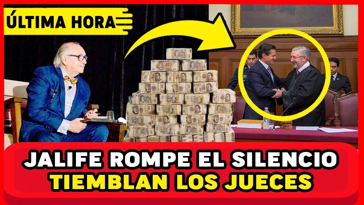 ¡CUIDADO CON LOZOYA! ESTO REVELÓ ALFREDO JALIFE DE LOS JUECES EN ENTREVISTA ¡AMLO EN SHOCK!