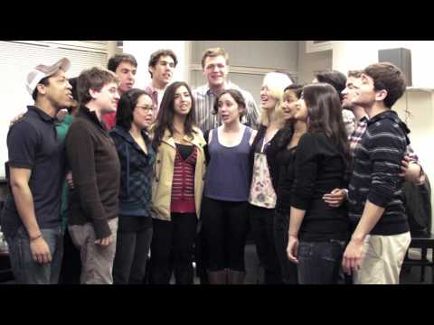 """The Dartmouth Dodecaphonics sing """"Twilight Song"""" to the Class of 2014"""