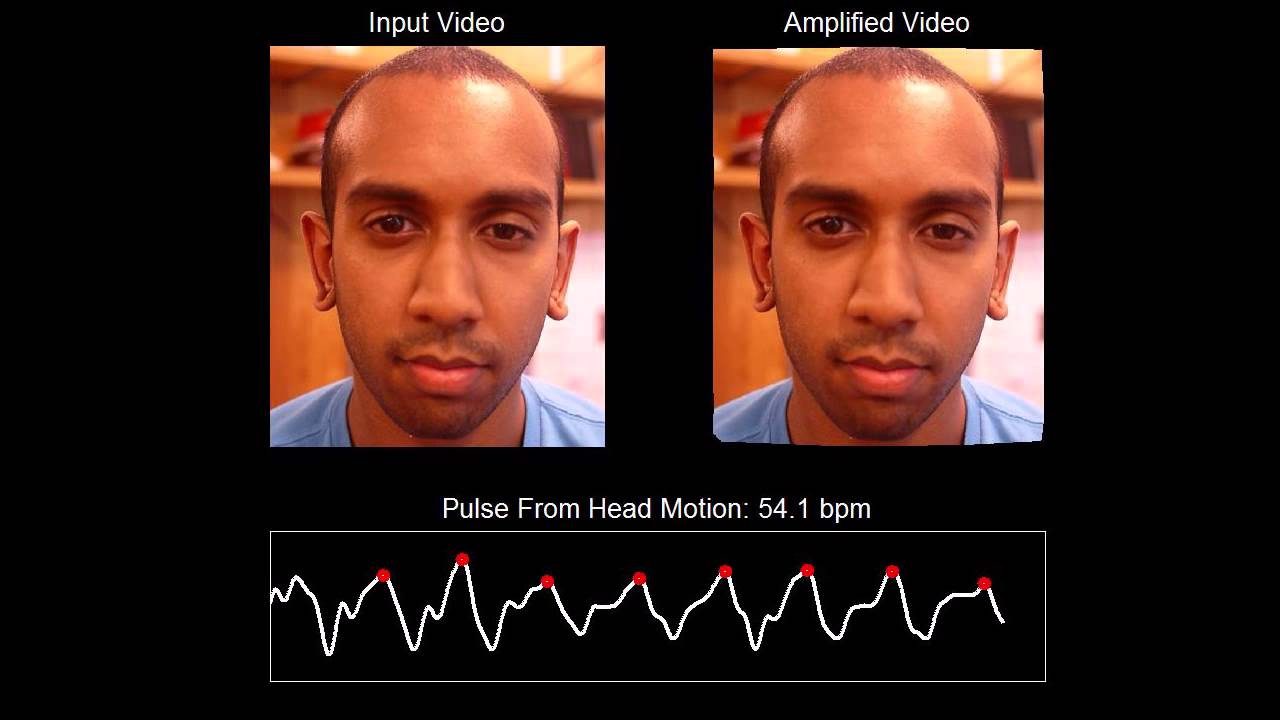 Detecting Pulse From Head Motions in Video