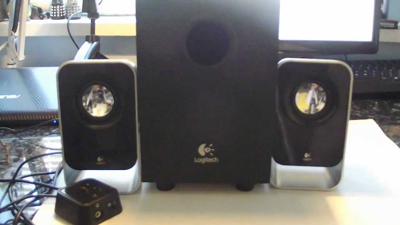Logitech LS21 Speakers (2.1) - Review - YouTube