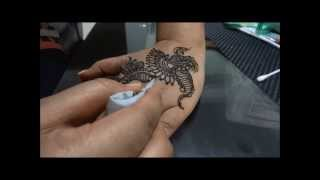 Beautiful Arabian Henna Mehendi Design For Indian Pakistani Occassions, Eid, Karwa Chauth, Teej