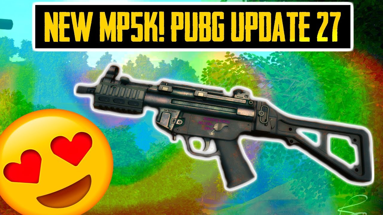 NEW MP5K! PUBG UPDATE 27 PS4, XBOX RELEASE DATE & PC PATCH NOTES