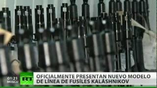 Presentan el nuevo fusil Kaláshnikov AK-12, sucesor del mítico AK-47