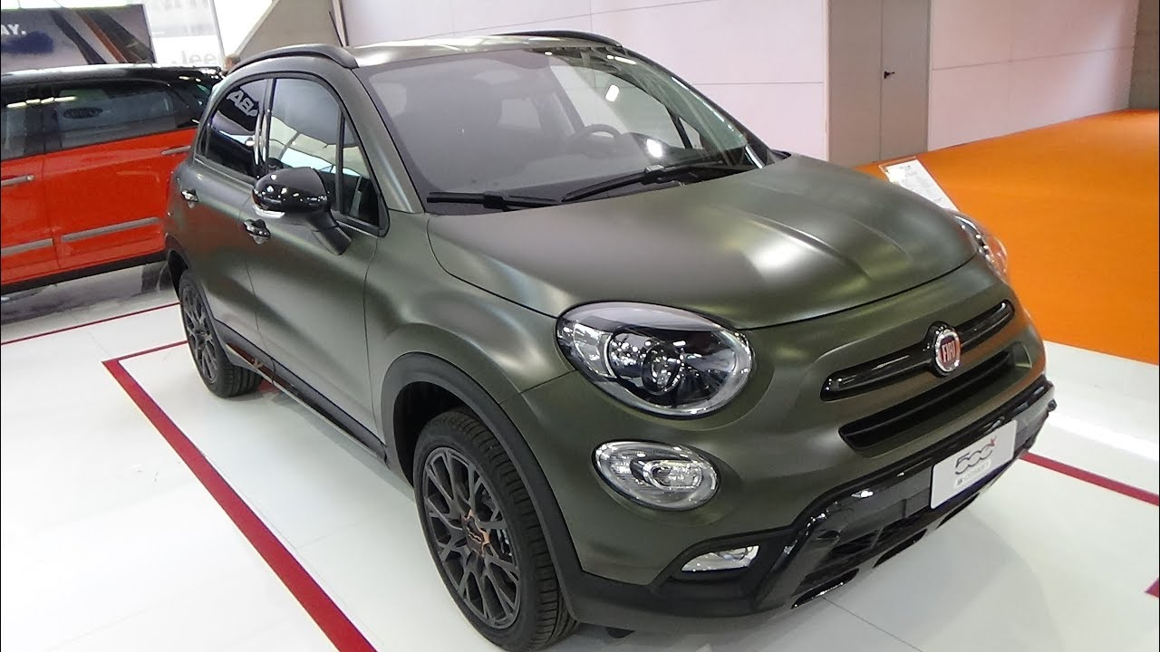 2018 fiat 500x s design offroad look 1 6 multijet exterior and interior bologna motor show. Black Bedroom Furniture Sets. Home Design Ideas