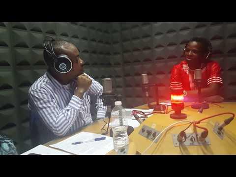 Ruben Evuy entrevista en la radio nacional de Guinea Ecuatorial