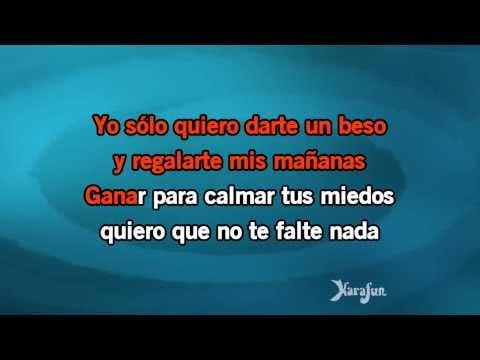 Karaoke Darte Un Beso - Prince Royce *