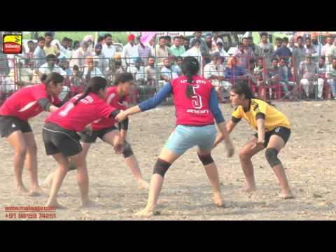 BAL (Ferozepur) || KABADDI TOURNAMENT - 2015 || GIRLS SEMI FINALS MATCH ||