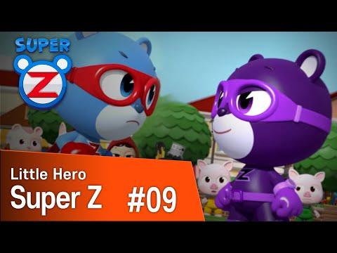 [Super Z] Little Hero Super Z Episode 9 l Twin Power Zak!