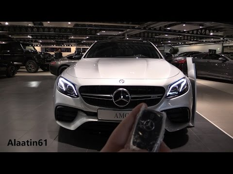 Mercedes-AMG E63 S 4Matic+ 2017 Start Up, In Depth Review Interior Exterior