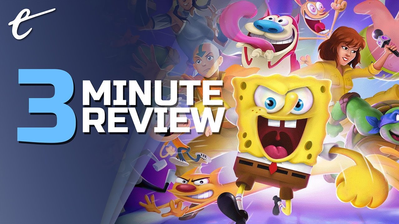 Nickelodeon All-Star Brawl   Review in 3 Minutes + (Video Game Video Review)
