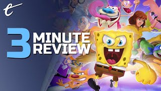 Nickelodeon All-Star Brawl | Review in 3 Minutes + (Video Game Video Review)