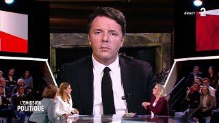Confronto tra Matteo Renzi e Marine Le Pen su France 2