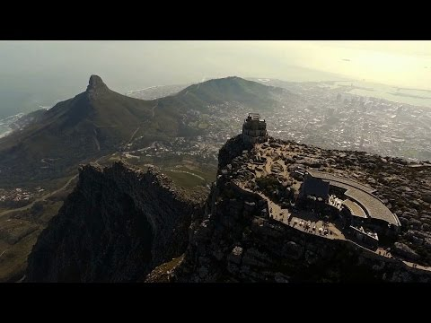 Drone Captures Bird's Eye View Of Cape Town