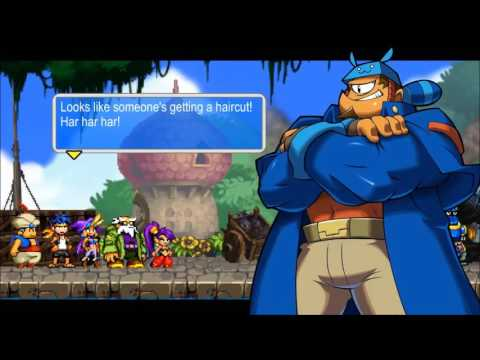 Shantae and the Pirate's Curse - Chapter 1 - Salvia Island - Cyclops Plant