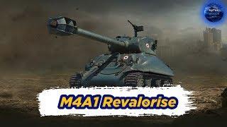 Новый ст8 - Французский M4A1 Revalorise, и ФАН на Блохе E 25, WoT Blitz