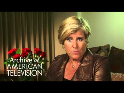 Suze Orman on how a little help from friends can help you follow your dream - EMMYTVLEGENDS.ORG