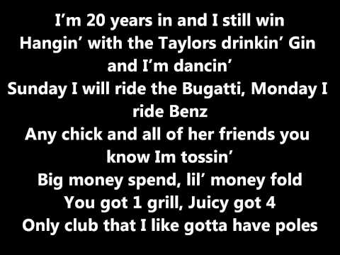Wiz Khalifa-Errday  Lyrics