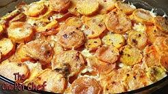 Savory Sweet Potato Gratin | One Pot Chef