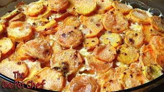 Savory Sweet Potato Gratin - Recipe