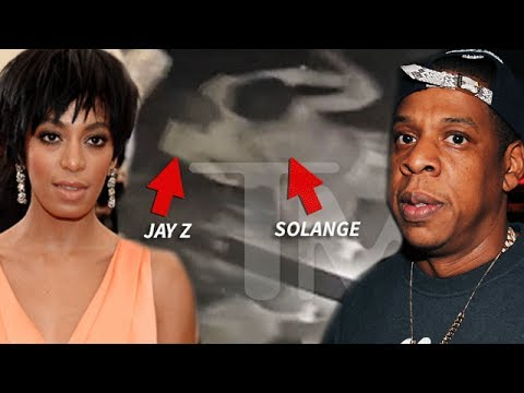 , EXCLUSIVE FOOTAGE: Solange PHYSICALLY Attacks Jay-Z in Elevator!