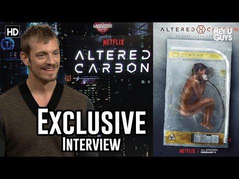 Joel Kinnaman  Altered Carbon Exclusive