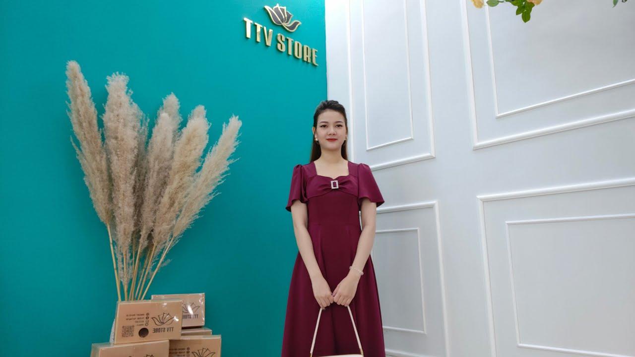 [ LIVE 155 ] – Đầm Trung Niên Đẹp GIẢM GIÁ SỐC – Thời Trang Trung Niên 2021