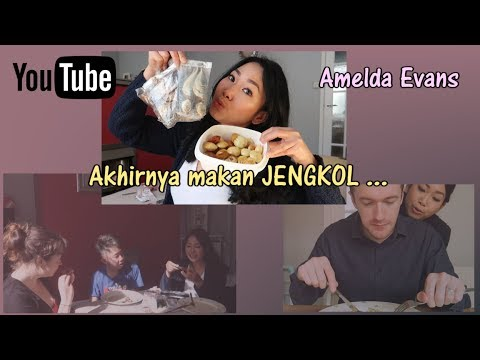 Friends try Indonesian food! |dapat jengkol | Suamiku makan sambal | Vlog#6