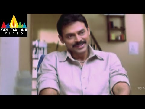 Gharshana Movie Venkatesh at Asin Home | Venkatesh, Asin | Sri Balaji Video