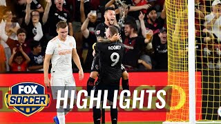 Luciano Acosta scores with an assist from Wayne Rooney vs. Atlanta United | 2018 MLS Highlights
