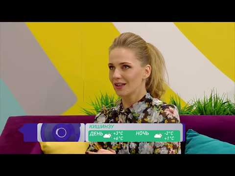 """Гость передачи """"Доброе утро"""" на канале СТС Молдова"""