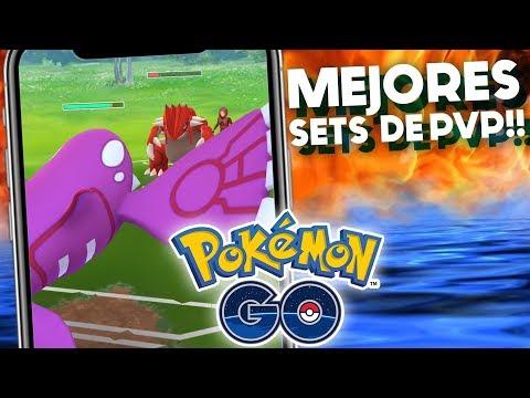MEJORES SETS DE GROUDON Y KYOGRE EN EL PVP!! | 1017 | POKEMON GO thumbnail