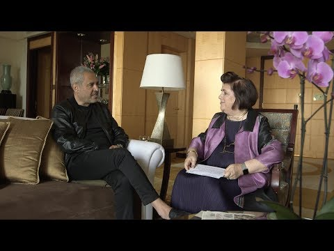 Elie Saab in conversation with Suzy Menkes   Oman International Luxury Conference
