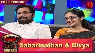 JB Junction:KS Sabarinathan & Divya S Iyer - Part 1 | 1st July 2017 | Full Episode