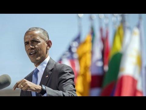 "Obama Calls Iraq War & Vietnam ""Overreach"" at Air Force Academy"