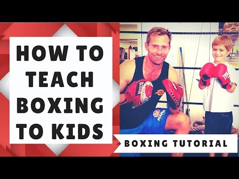 How to Teach Fitness-Boxing to Kids
