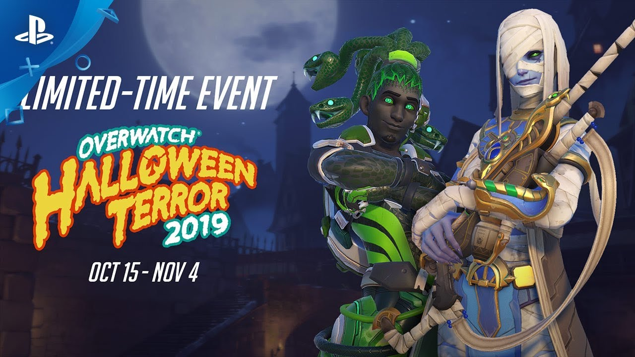 New Overwatch Skins 2020.Overwatch Halloween Terror 2019 Ps4