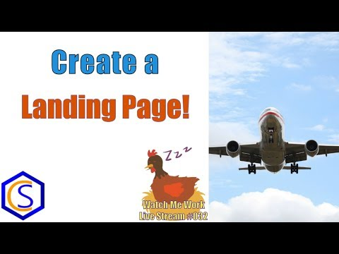 Make A Lead Collecting Landing Page In Joomla - 👀 Watch Me Work 032