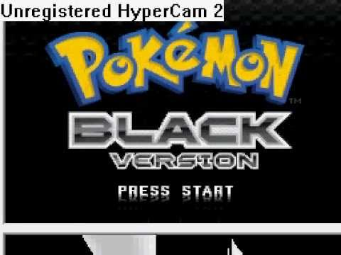 Pokemon Black Version USA Patched! Link Download!